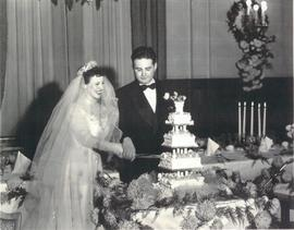 Wedding of Mozanne Baltzan and Marvin Dower.