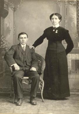 Peter and Mania Rodnunsky, 1912.