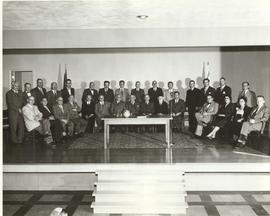 Talmud Torah Board of Trustees, ca. 1955.