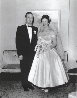 Wedding of Leon Miller and Deborah Craigman.