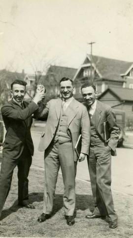 Herb Meltzer, Bob Hardy and Max Cantor
