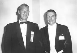 Merv Leitch and Peter Lougheed