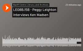 Peggy Leighton interviews Ken Madsen