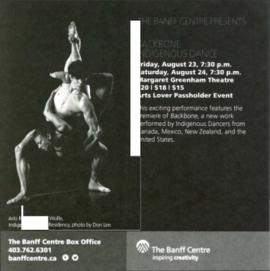 Banff Summer Arts Festival: Promotional Material