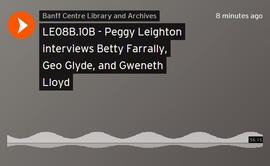 Peggy Leighton interviews Betty Farrally, Geo Glyde, and Gweneth Lloyd