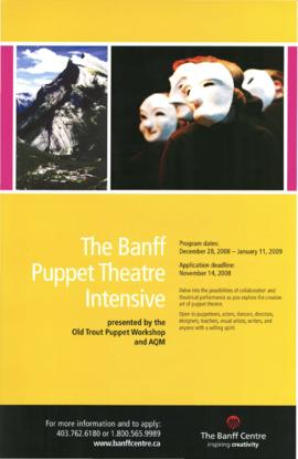 The Banff Puppet Theatre Intensive