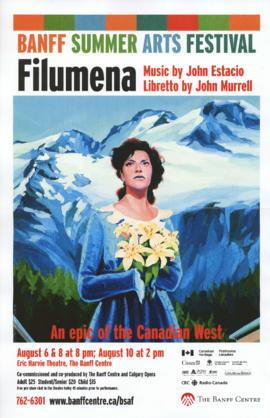 "SF 1110 - ""Filumena : An Epic of the Canadian West"""