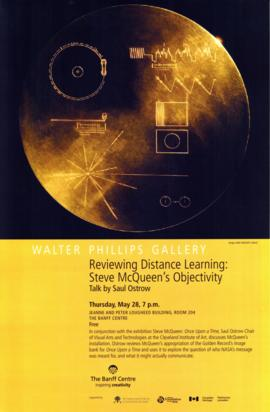 """Reviewing Distance Learning : Steve McQueen's Objectivity"" : [poster]"
