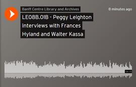 Peggy Leighton interviews with Frances Hyland and Walter Kassa : [recording]