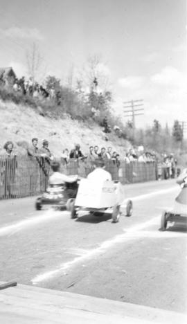 Soapbox derby in Red Deer