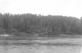 American Museum of Natural History expedition on the Red Deer River