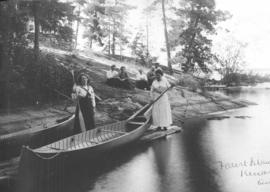 Canoeing on the Lake of the Woods