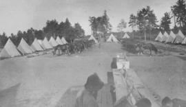 Cadet camp at Petawawa