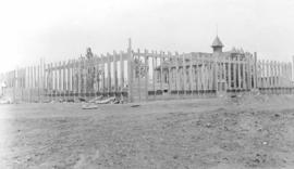 Construction of a school, Red Deer