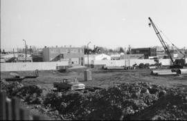 Construction of the Provincial Building, Red Deer