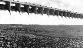 Horseshoe Bend Dam near Bassano