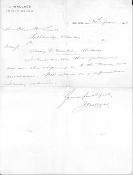 Business correspondence of Charles Snell