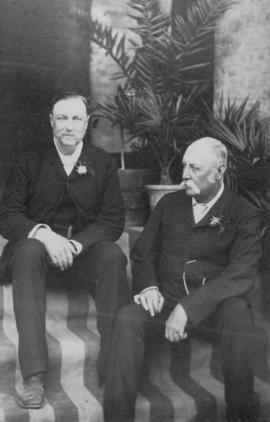 British colonial officials in Quetta