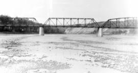 The east bridge, near Red Deer
