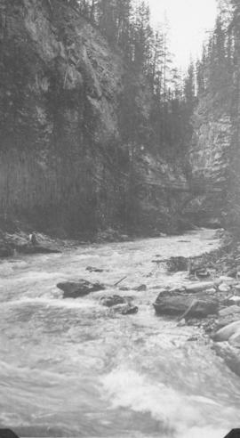 Johnson Canyon near Banff