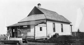 Laurence Banting's farm house, Red Deer
