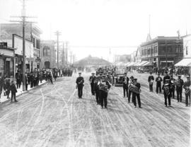 Red Deer Automobile Club parade