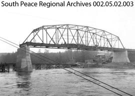 Smoky River Bridge Construction