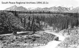 The Alcan Highway to Alaska