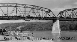 Smoky River Bridge Opening, Alberta.
