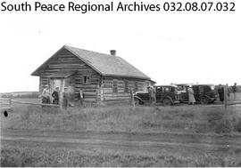 Lower Beaverlodge School, Alberta.