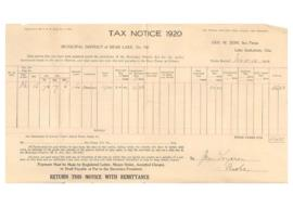 Tax Notices