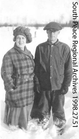 Myrle and Clyde Campbell