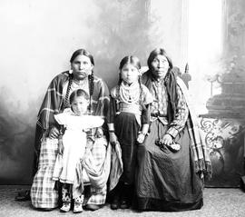 Hobbema First Nations Family Group