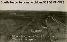 """Where Rail and Trail Meet Grande Prairie"""