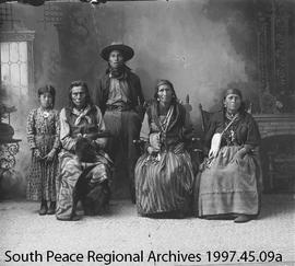 Hobbema First Nations Family