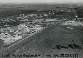 Aerial View of the Grande Prairie Lumber Mill