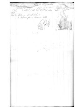 1861-1863 Fur Trade Ledger Part 3