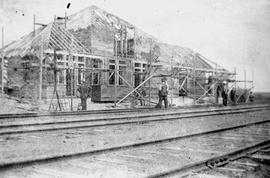 Building the Railway Station