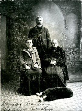 Armstrong-Whitman Family Portrait
