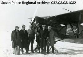 First Air Mail to Grande Prairie