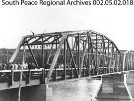 Opening of Smoky River Bridge