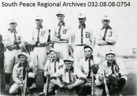Beaverlodge Baseball Team
