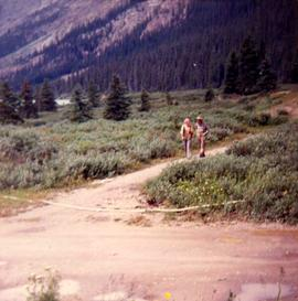 Ruth Gorman and Jimmy Simpson, Banff National Park, Alberta.