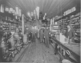 General hardware store, possibly Paterson & Sons, Okotoks, AB.