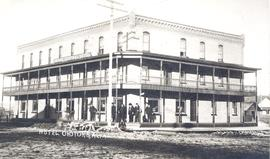Grand Central Hotel, Okotoks, AB, built 1906
