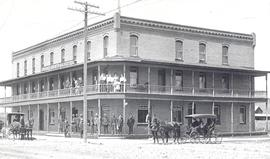 Grand Central Hotel, Okotoks, AB, built 1906.