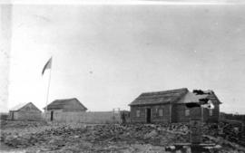Hudson's Bay Company post, Fort Wrigley, Arctic Red River.