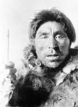 Portrait of Unidentified Inuit Man