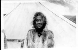 A Portrait of an Unidentified Inuit Boy at Arctic Red River