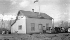 Hudson's Bay Company house at Aklavik.